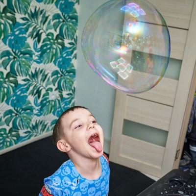 Шоу мыльных пузырей Хабаровск